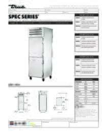 STA1RPT 2HS 1S HC Spec Sheet