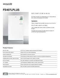 Brochure FS407LPLUS