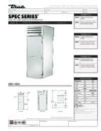 STA1RRT 1S 1S Spec Sheet