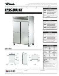 STA2F 2S Spec Sheet