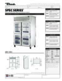 STA2H 4HG Spec Sheet