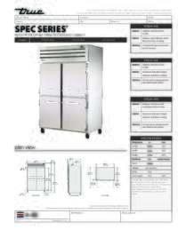 STA2H 4HS Spec Sheet