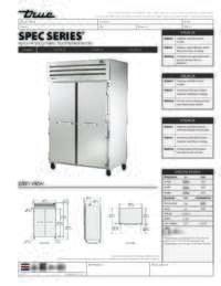 STA2R 2S Spec sheet