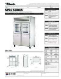 STA2R 2HG2HS Spec Sheet