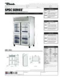 STA2R 4HG Spec Sheet