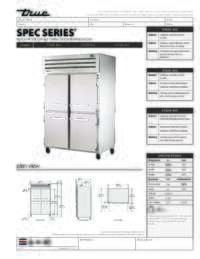 STA2R 4HS Spec Sheet