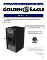 7000 Golden Eagle Owner's Manual