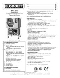 BCT 61E spec
