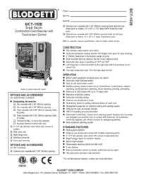 BCT 102E spec