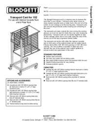 Cart 102 spec