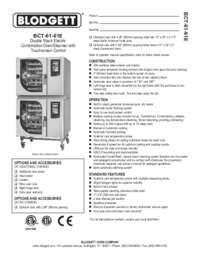 BCT 61 61E spec