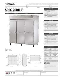 STA3F 3S Spec Sheet