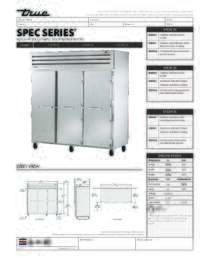 STA3R 3S Spec Sheet