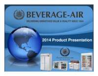 Beverage Air Product Presentation