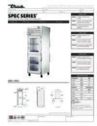 STG1F 2HG Spec Sheet