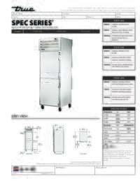 STG1F 2HS Spec Sheet