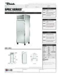 STG1H 1S Spec Sheet