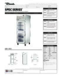 STG1H 2HG Spec Sheet
