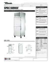 STG1H 2HS Spec Sheet