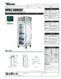 STG1R 1G Spec Sheet