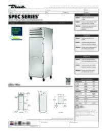 STG1R 1S Spec Sheet