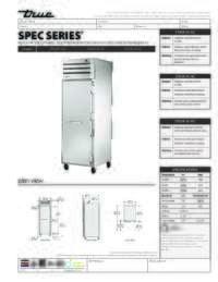STG1R 1S HC Spec Sheet