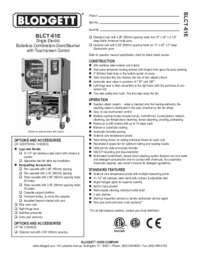 BLCT 61E spec