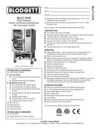 BLCT 101E Specification