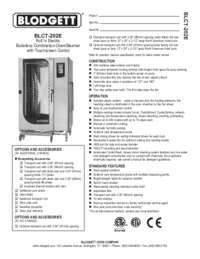 BLCT 202E Specification