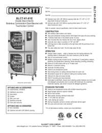BLCT 61 61E Specification