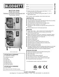 BLCT 61 101E Specification