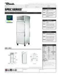 STG1R 2HS Spec Sheet