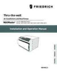 WallMaster Installation and Operation Manual