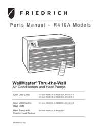 Friedrich Ws12d10a 27 Inch Wallmaster Series Thru The Wall