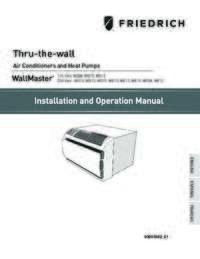 WallMaster Installation and Operation Manual