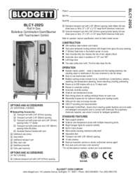 BLCT 202G Specification