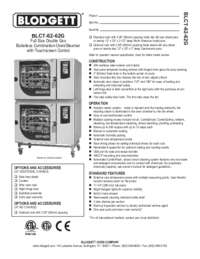 BLCT 62 62G Specification