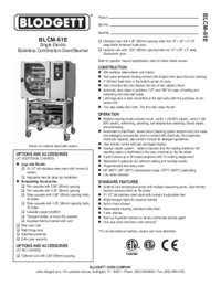BLCM 61E Specification