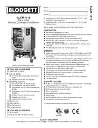 BLCM 101E Specification