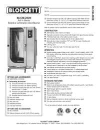 BLCM 202E Specification