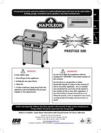 PRESTIGE 500 Manual