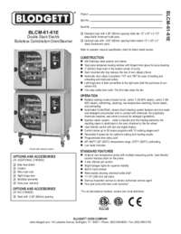 BLCM 61 61E Specification