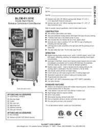 BLCM 61 101E Specification
