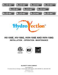 Hydrovection Owners Manual