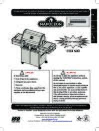 PRO500RSIB Manual