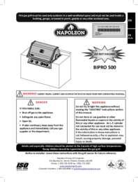 BIPRO500RB Manual