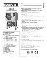 BCM 61E Specification