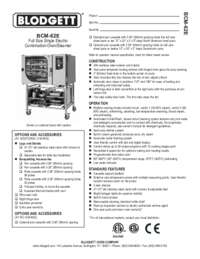 BCM 62E Specification