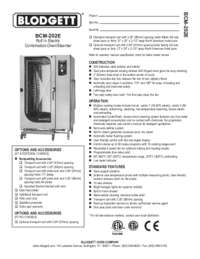 BCM 202E Specification