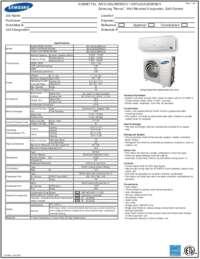 AR12JSALBWKXCV Spec Sheet